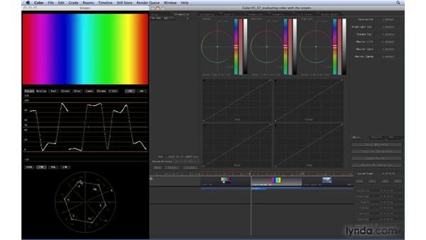 Evaluating color with Scopes: Color 1.5 Essential Training