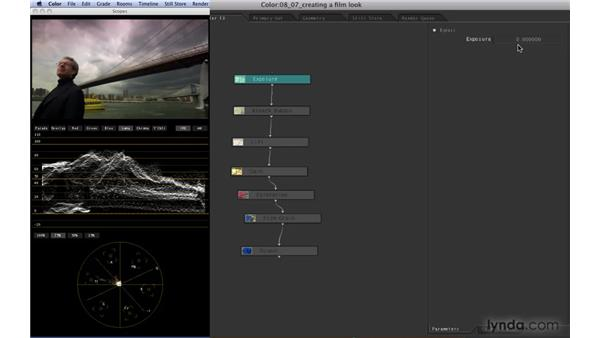 """Creating a """"film"""" look: Color 1.5 Essential Training"""