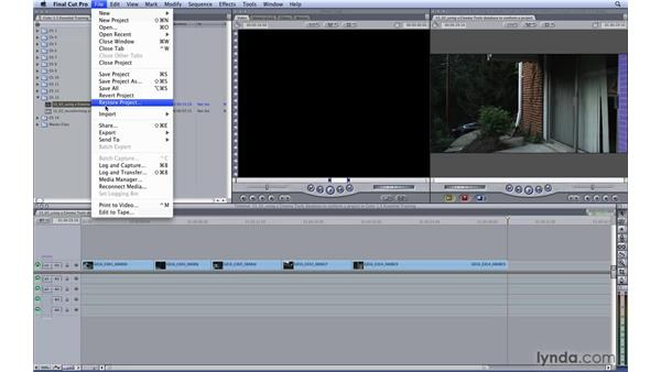 Using a Cinema Tools database to conform a project: Color 1.5 Essential Training