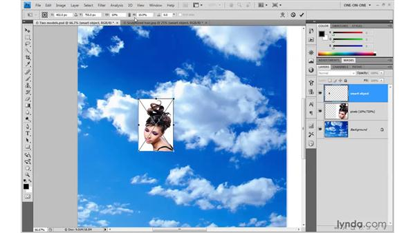 The rewards of nondestructive transformations: Photoshop Smart Objects