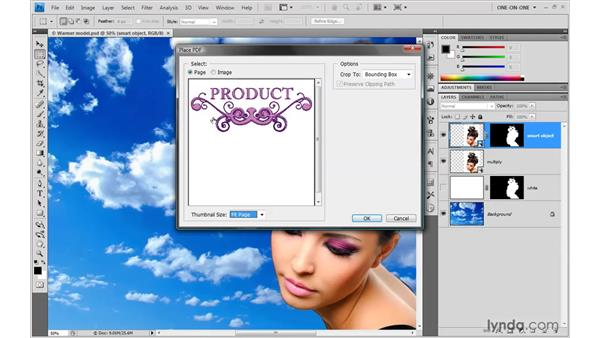 Importing Illustrator artwork: Photoshop Smart Objects