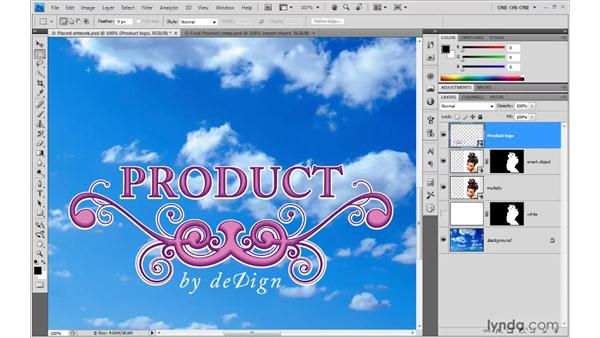 Updating an Illustrator Smart Object: Photoshop Smart Objects