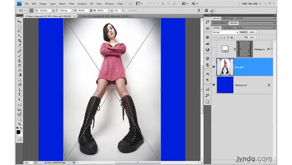 Placing images as Smart Objects: Photoshop Smart Objects