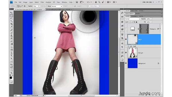 Finding the exact center of an image: Photoshop Smart Objects
