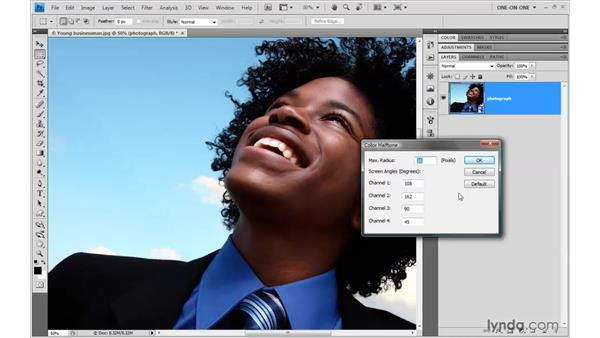 Applying and modifying creative effects: Photoshop Smart Objects