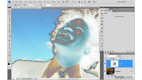 Tweaking filters with adjustment layers: Photoshop Smart Objects