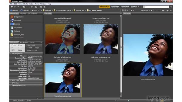 The price of Smart Filters: Photoshop Smart Objects
