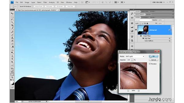 Picking the right blend mode: Photoshop Smart Objects