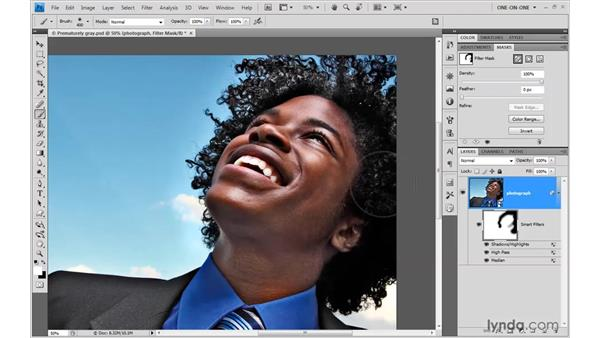 Editing filter masks and density: Photoshop Smart Objects