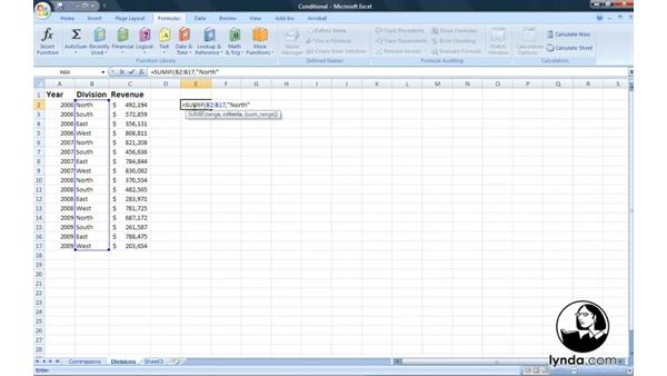 Welcome: Excel 2007: Introduction to Formulas and Functions