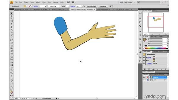 Working with outlines: 2D Character Animation