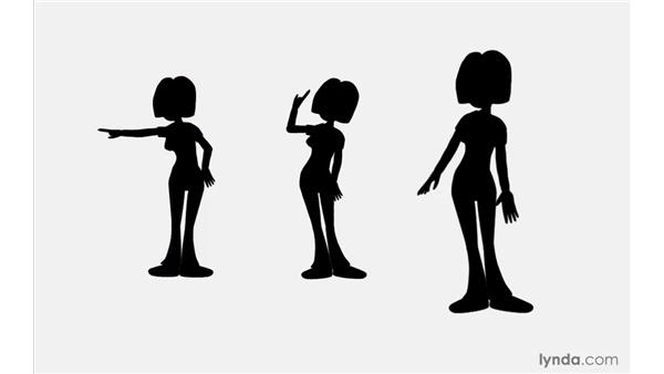 Creating strong silhouettes: 2D Character Animation