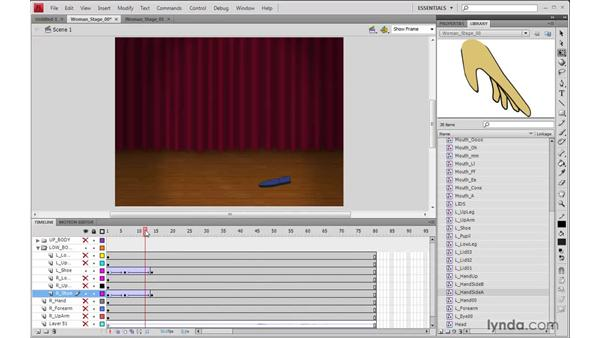 Animating the feet in Flash: 2D Character Animation
