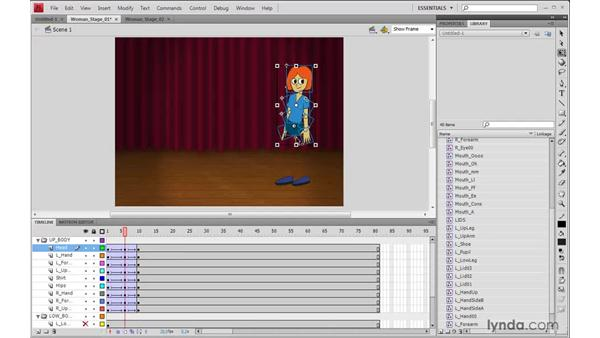 Animating the body in Flash: 2D Character Animation