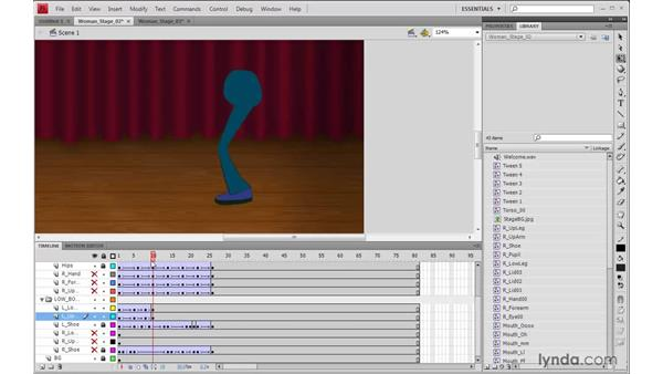 Animating the legs in Flash: 2D Character Animation