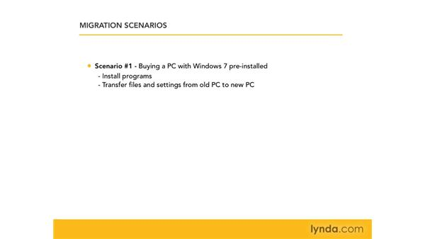 Determining the best migration option for you: Migrating from Windows XP to Windows 7