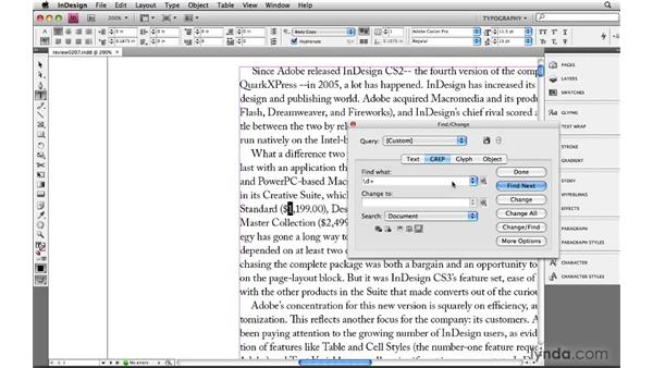 Using repeat metacharacters and defining the shortest match: Learning GREP with InDesign