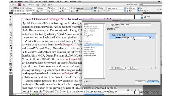 Finding content that doesn't exist with zero functions: Learning GREP with InDesign