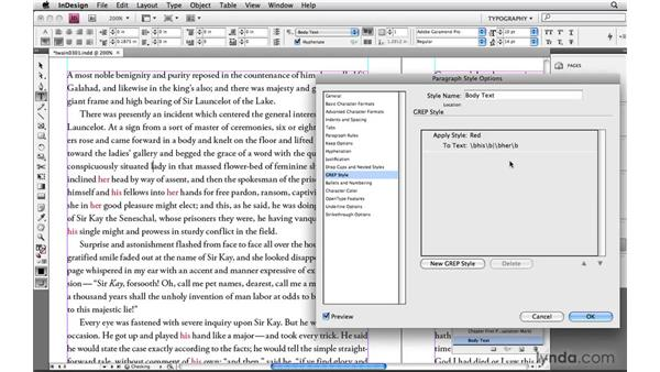 """Creating """"or"""" conditions: Learning GREP with InDesign"""