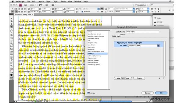 Using negative character sets: Learning GREP with InDesign