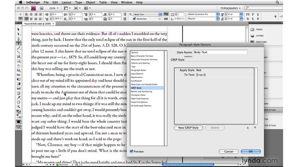 Using InDesign-compatible Posix expressions: Learning GREP with InDesign