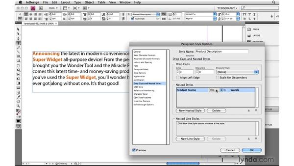 Styling specific words or phrases: Learning GREP with InDesign