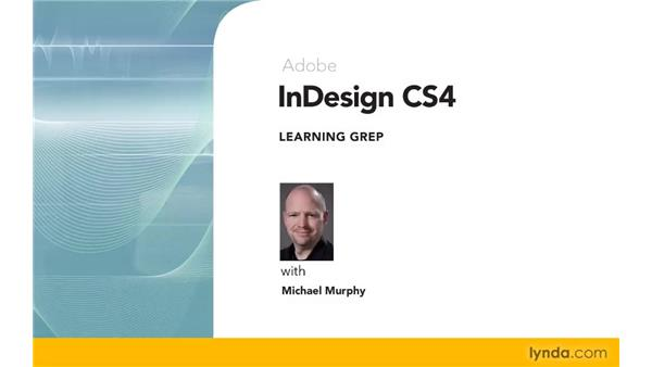 Goodbye: Learning GREP with InDesign