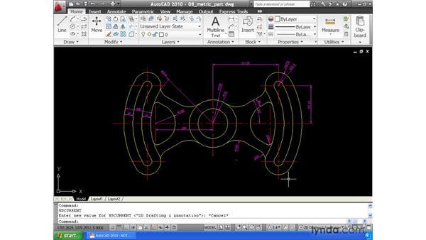 Saving a workspace: AutoCAD 2010 Essential Training