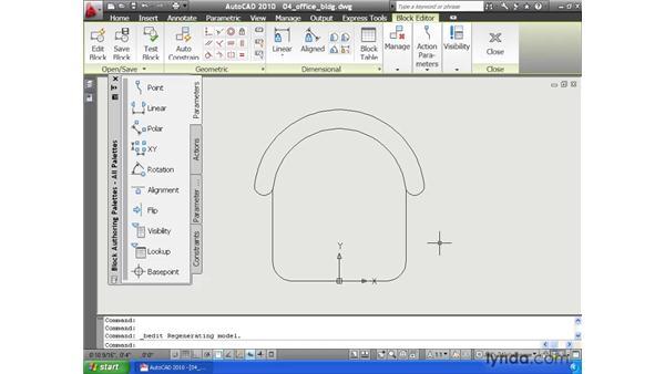 Redefining blocks: AutoCAD 2010 Essential Training