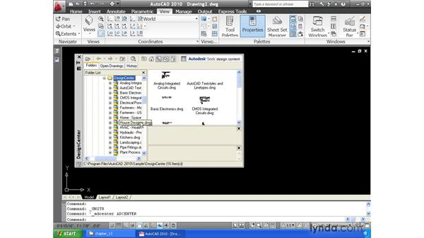Building a block library: AutoCAD 2010 Essential Training