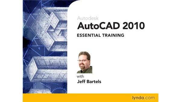 Goodbye: AutoCAD 2010 Essential Training