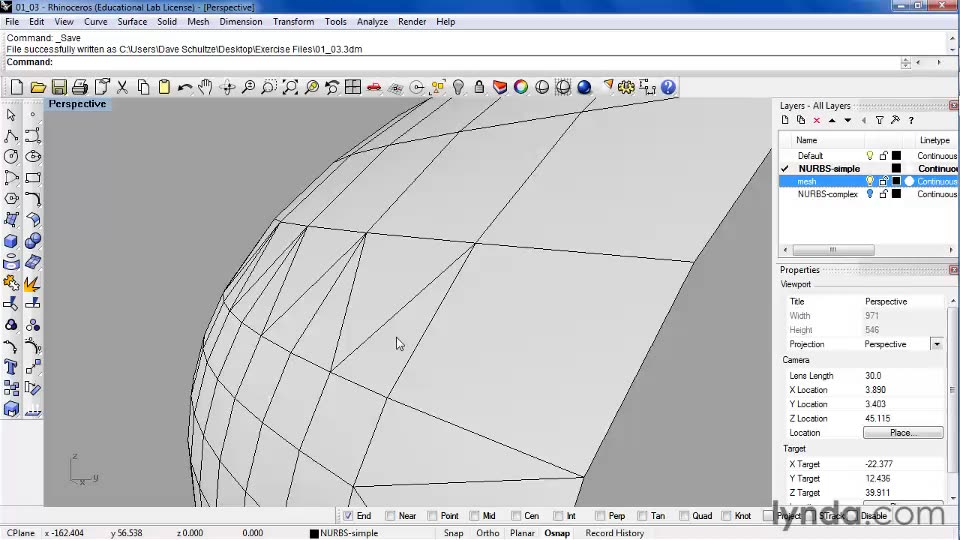 Comparing isocurve surfaces and mesh surfaces