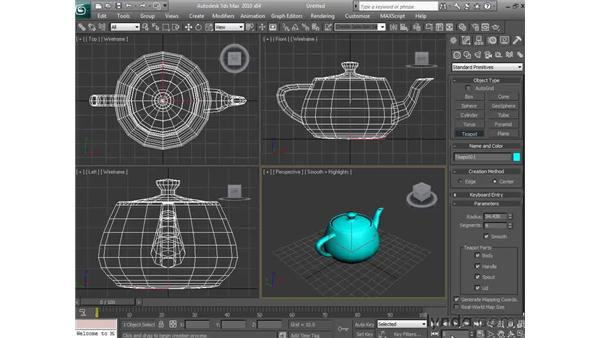 Understanding 3D space: 3ds Max 2010 Essential Training