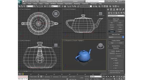 Improving your workflow: 3ds Max 2010 Essential Training