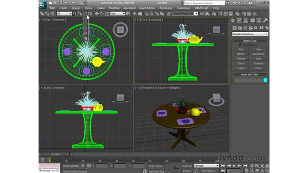 Getting to know the interface: 3ds Max 2010 Essential Training