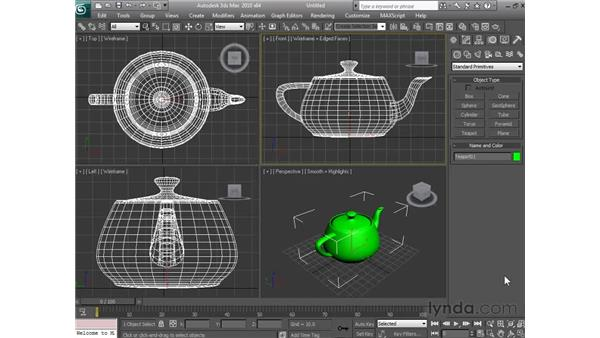 Getting around in the viewports: 3ds Max 2010 Essential Training
