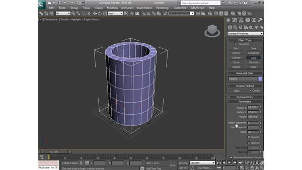 Useful right-click commands: 3ds Max 2010 Essential Training