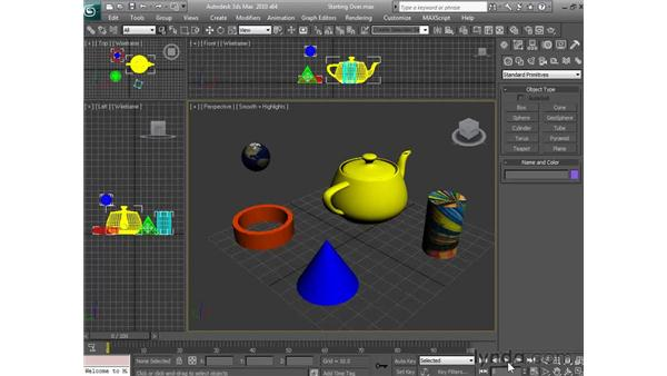 Starting a new project: 3ds Max 2010 Essential Training
