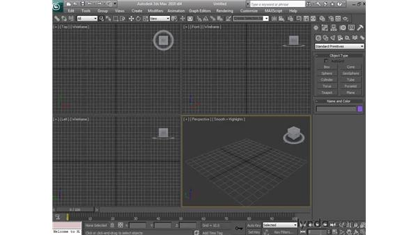 Opening, importing, and merging files: 3ds Max 2010 Essential Training