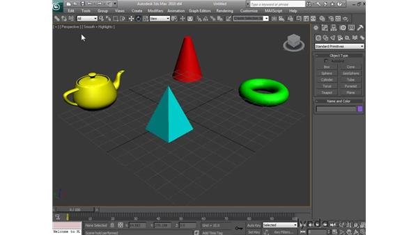Holding and fetching files: 3ds Max 2010 Essential Training