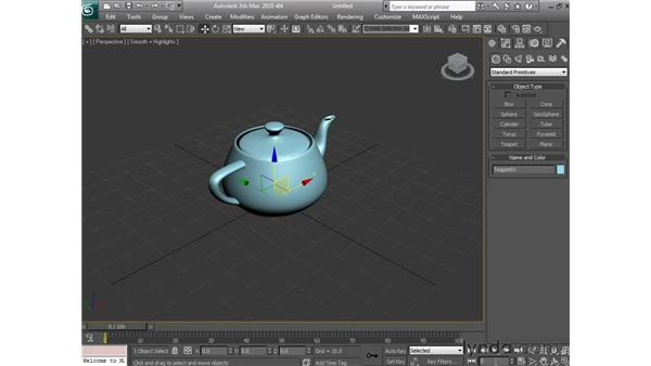 Reading the Transform Gizmo: 3ds Max 2010 Essential Training