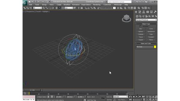 Coordinating systems: 3ds Max 2010 Essential Training