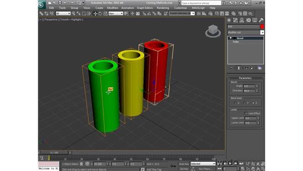 Making copies: 3ds Max 2010 Essential Training