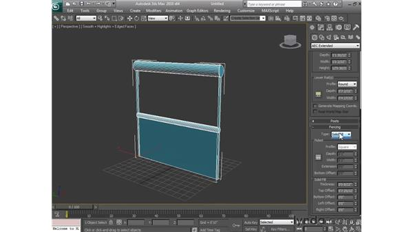 Creating architectural objects: 3ds Max 2010 Essential Training