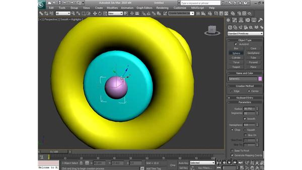 Project: Creating a car axle and wheels: 3ds Max 2010 Essential Training