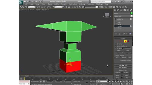 Box modeling : 3ds Max 2010 Essential Training