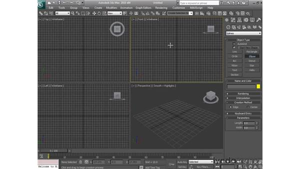 Applying modifiers in the middle of the stack: 3ds Max 2010 Essential Training