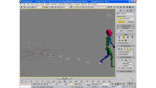 Using the flex modifier: 3ds Max 2010 Essential Training