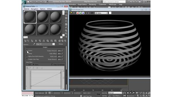 Using opacity maps: 3ds Max 2010 Essential Training