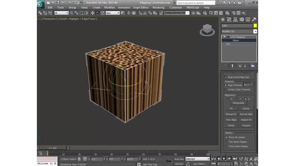 Mapping coordinates: 3ds Max 2010 Essential Training